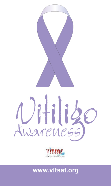 DuaLight Vitiligo Support Association Graphic